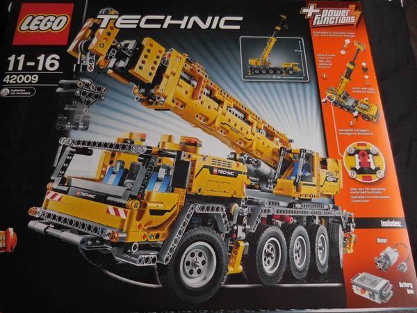 Lego Technik Kran 42009 ungeöffnet