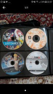 PS 2-3 und Wii Spiele