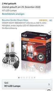 OSRAM H7 LED sind legal