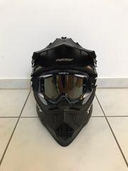 Nox Helm mit 100 Brille