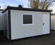 Bürocontainer Wohncontainer Gartenlaube 4 50x2