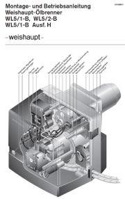 Verkaufe Weishaupt Ölbrenner Typ WL