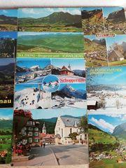 Ältere Postkarten aus dem Bregenzerwald
