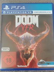 DOOM VFR VR PS4 Playstation