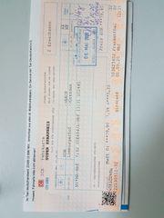 Bahnfahrkarte Mannheim-Dresden 1 Klasse ICE