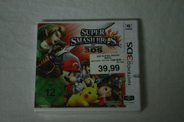3DS Game SUPER SMASH BROS