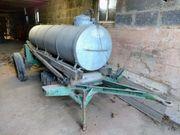 Anhänger Wasser- Güllefass 1000 Liter