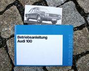 Betriebsanleitung Audi 100 Limousine 1972