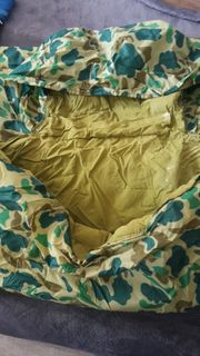 DDR schlafsack military top