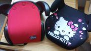 Auto-Sitzerhöhung Chicco und Hello Kitty