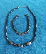 Wie neu Modeschmuck-Halskette 40cm und