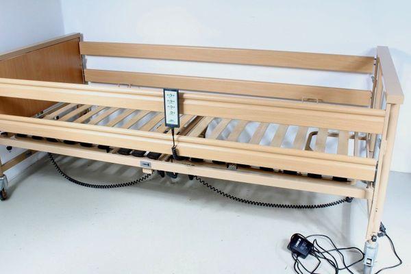 Elektrisch verstellbares Pflegebett Krankenbett Burmeier