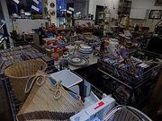 Flohmarkt Laden Secondhand Shop CD