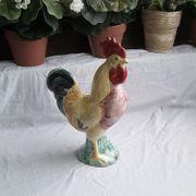 bunter Keramik - Ton Gockel Hahn