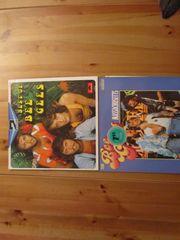 verschiedene alte Langspielplatten LPs