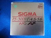 Sigma Objektiv 75-300