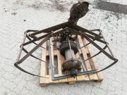 Heugreifer mit Seilwinde und Drehstrommotor