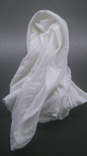 Halstuch Weiß