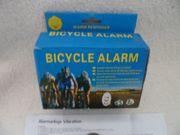 Bicycle Alarm mit Fernbedienung Neu