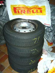 Sommer-Kompletträder Pirelli auf Stahlfelge