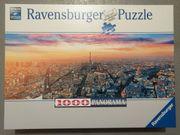 Puzzle Ravensburger 1000 Teile Paris