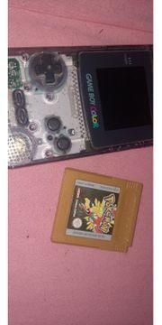 Gameboy Color mit Pokemon Gold