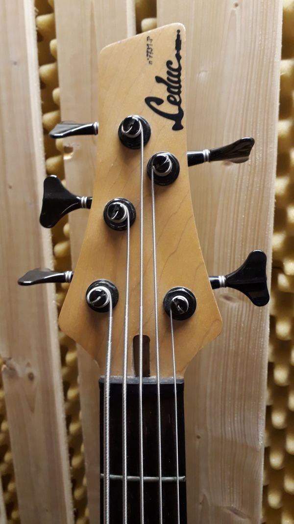 Leduc Masterpiece 5-Saiter E-Bass