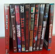 HORRORFILM DVDS