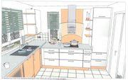 Schnäppchen Küche komplett mit Elektrogeräten