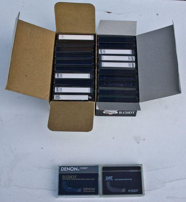 Denon DAT R-120 DT Kassetten