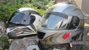 Motorradhelm von HJC Gr 58