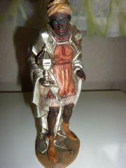Anri Kuolt Holzfigur stehender König