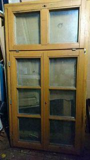 Zweiflügiges Holz Alu Fenster mit
