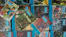 Comics, Science fiction, Fantasy, Abenteuer, Krimis, Western - Atlan Moewig 19 Hefte
