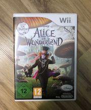 Nintendo Wii Spiel Disney Alice