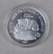 Medaille - Münze Knut der Träumer