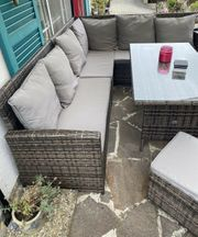Garten-Lounge Set Polyrattan