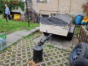 Pkw Anhänger hp500 01 gebremst