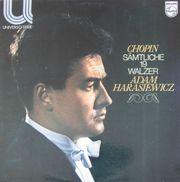 Chopin-sämtliche 19 walzer-Adam Harasiewicz LP