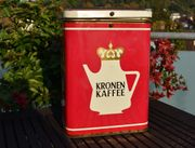 Alte KRONEN KAFFEE Blechdose Leopold