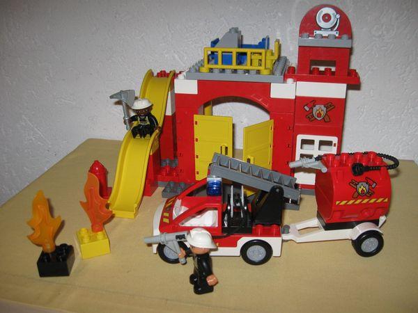 LEGO Duplo Feuerwehrstation 6168 Sirene