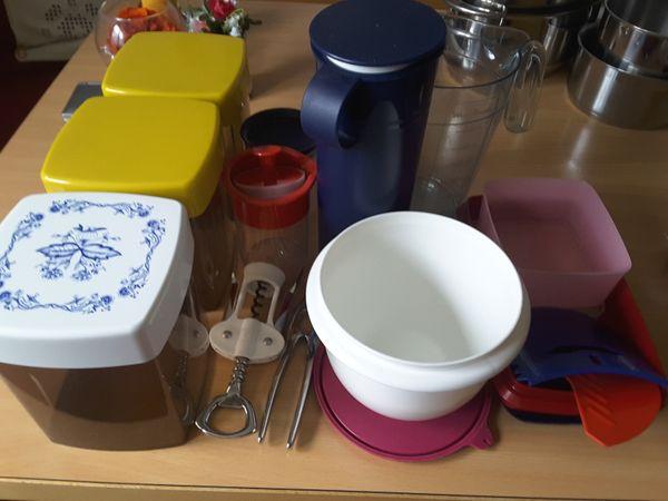 Tupperware u Vorratsdosen