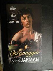 Flyer 1986 Caravaggio Homo Künstlerbiografie