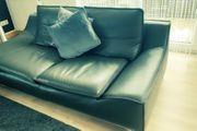 Echtleder Couch 2 3