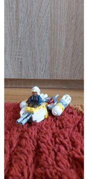 Lego Star Wars Raumschiff weiß-gelb
