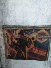 UNIKAT Blechschild Harley Davidson