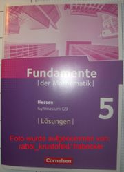 Fundamente der Mathematik 5 Hessen