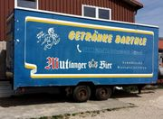 Großer Kühlwagen Kühlanhänger