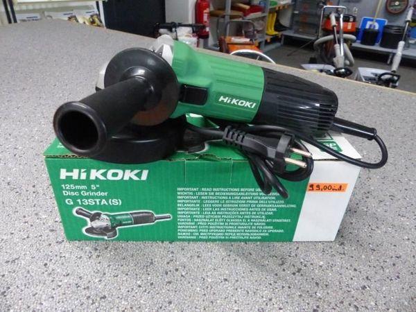 Winkelschleifer Hikoki Baugleich Hitachi Kein