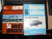 Reparaturanleitungen Audi 80 ab 9 -